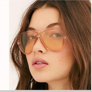 Glinda Rosey Aviator Sunglasses
